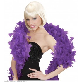 Feather Boa Purple 180Cm - Fancy Dress