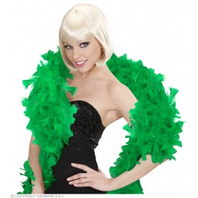 Feather Boa Green 180Cm - Fancy Dress