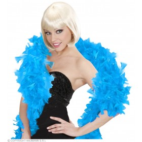 Feather Boa Turquoise 180Cm - Fancy Dress