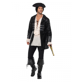 Buccaneer Pirate Jacket Fancy Dress