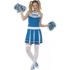 Cheerleader Costume Fancy Dress Outfit