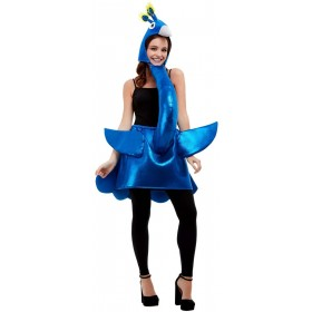 Deluxe Peacock Fancy Dress Costume Animals