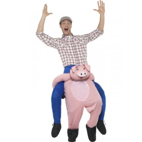 Piggyback Pig Fancy Dress Costume