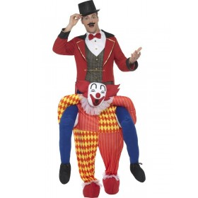Piggyback Clown Fancy Dress Costume