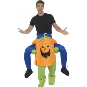 Piggyback Pumpkin Fancy Dress Costume