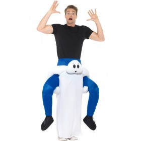 Piggyback Ghost Fancy Dress Costume
