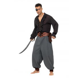 Pirate Blouson Pants Fancy Dress