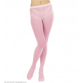 Xl Pantyhose Light Pink - Fancy Dress
