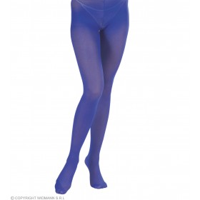 Xl Pantyhose Blue - Fancy Dress
