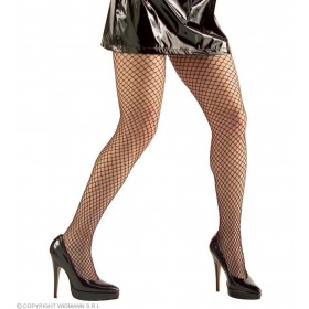 Fishnet Pantyhose Wide Black - Fancy Dress