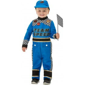 Toddler Racing Car Driver Fancy Dress Costume Heroes