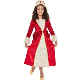 Tudor Princess Fancy Dress Costume