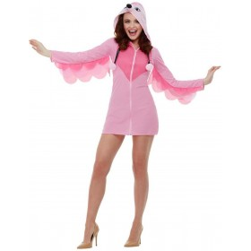 Flamingo Fancy Dress Costume Animals