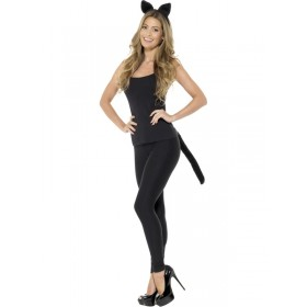 Adult Cat Fancy Dress Accessory Kit
