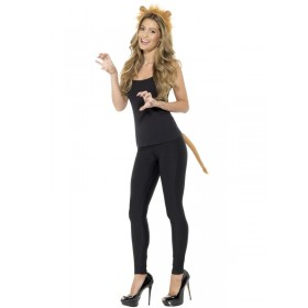 Adult Lion Fancy Dress Accessory Kit