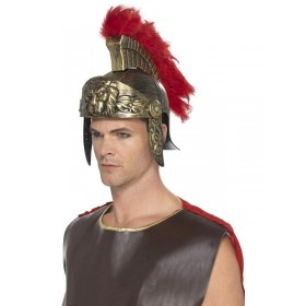 Roman Spartan Fancy Dress Helmet