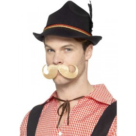 Deluxe German Trenker Fancy Dress Hat