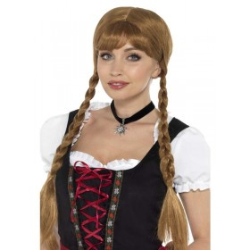 Bavarian Frõulein Fancy Dress Choker Accessory