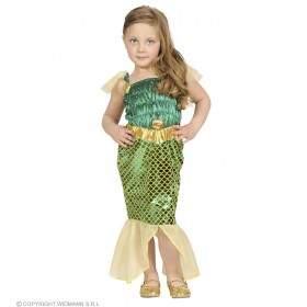 Beauty Mermaid Dress 98 - 104Cm Fancy Dress Costume