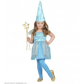Beauty Blue Fairy Dress, Hat 98, 104Cm Costume (Fairy Tales)