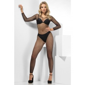 Fishnet Footless Jumpsuit Fancy Dress Accessory