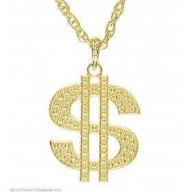 Gold Dollar Necklace Jewellery