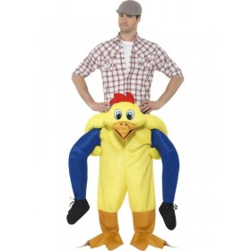 Piggyback Chicken Fancy Dress Costume