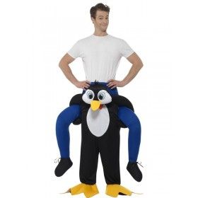 Piggyback Penguin Fancy Dress Costume