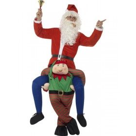 Piggyback Elf Fancy Dress Costume (Bottom Elf Half Only)