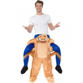 Piggyback Cockroach Fancy Dress Costume
