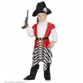 Pirate Girl 98 - 104 Cm Fancy Dress Costume (Pirates)
