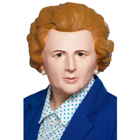 Iron Lady Mask 1980s Thatcher