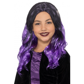 Kids Witch Wig Halloween Fancy Dress