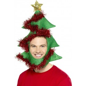 Novelty Christmas Tree Hat Fancy Dress