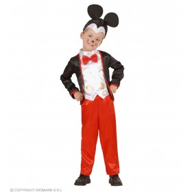 Mouse Boy - Jacket W/Vest&Bowtie, Pants Fancy Dress