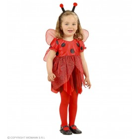 Lil' Ladybug With Dress-Wings-Antennas Fancy Dress