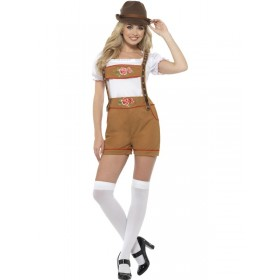 Sexy Bavarian Beer Girl Fancy Dress Costume