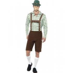 Alpine Bavarian Fancy Dress Costume