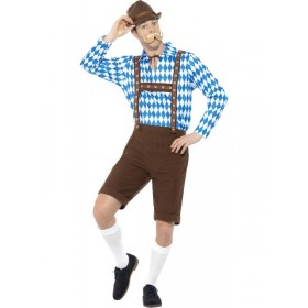 Bavarian Beer Man Fancy Dress Costume