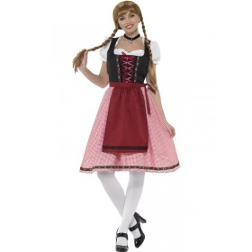 Bavarian Tavern Maid Fancy Dress Costume