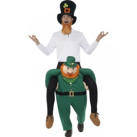 Piggyback Paddy's Leprechaun Fancy Dress Costume
