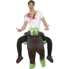 Piggyback Zombie Fancy Dress Costume