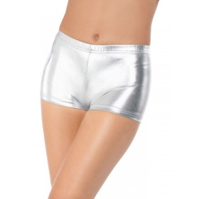 Fever Miss Whiplash Fancy Dress Shorts - Silver