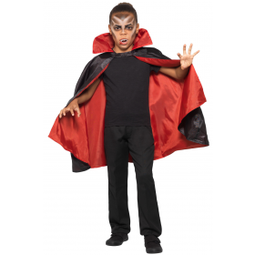 Reversible Vampire Cape Halloween Fancy Dress