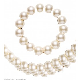 Pearl Choker And Bracelet Set - Fancy Dress