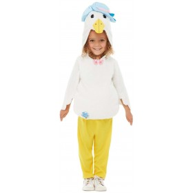 Peter Rabbit Deluxe Jemima Puddle-Duck Fancy Dress Costume Book Day (Official Licensed)