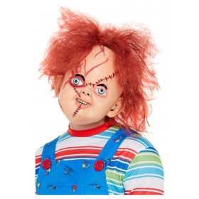 Chucky Latex Mask Halloween Fancy Dress (Official Licensed)
