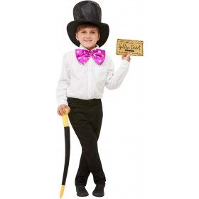 Roald Dahl Willy Wonka Dress-Up Kit Book Day Fancy Dress (Official Licensed)