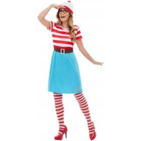 Where's Wally? Wenda Fancy Dress Costume Book Day (Official Licensed)