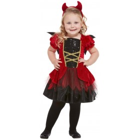 Toddler Devil Fancy Dress Costume Halloween